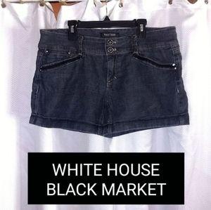 WHITE HOUSE BLACK MARKET CUFFED SHORTS
